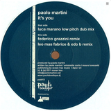 Paolo Martini-it's You-Leo Mas Fabrice Edo B Remix for Big Brother Loves You Production 2011