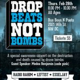 Drop Beats Not Bombs - Raising on Global Rickshaw Radio