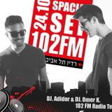 Adidor & Omer K. - 102 FM Radio Tel - Aviv (24.10.2014)