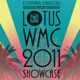 Julius The Mad Thinker - Live at the Lotus WMC 2011 Showcase
