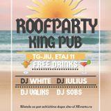 DJ White - Deep on the roofparty /w King PUB b2b DJ Iulius (09.04.2018)