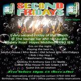 DJ STRIPES & SPINCITY SOUND SECOND FRIDAYS MAY 8TH 2015