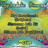 Slimec b2b PsyRitual @ PSychedelic dimensiOM /26.01.2019/ G Club, pLOVEdiv /