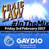 Gaydio #InTheMix - 3rd February 2017