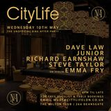 Dave Law in the mix at the City life Biba After party Milton Club Manchester 10th May 2017.