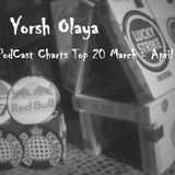 Yorsh Olaya @ PodCast Charts Top 20 March - April