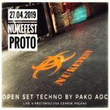 NukeFest 27_04_2019  ProtoKultura Gdańsk Poland Open set TECHNO