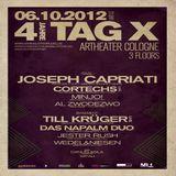 Cortechs (Live PA) @ 4 Jahre Tag X - Artheater Köln - 06.10.2012