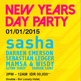 Sasha - UMF Radio #299 - Live at Double Six Rooftop, Bali 01/01/2015 - 01-Jan-2015
