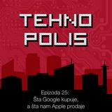 Tehnopolis 25: Šta Google kupuje, a šta nam Apple prodaje
