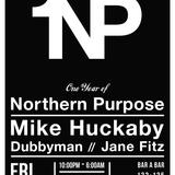 Dubbyman & Jane Fitz B2B Live At One Year of Northern Purpose 18.05.2012