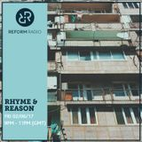 Rhyme & Reason 2nd June 2017