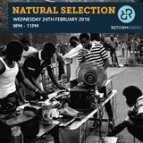 Natural Selection 24th February 2016