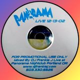 PANORAMA PDX LIVE DEC, 13TH 2002 - DJ FRANKIE J