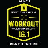 Reebok Crossfit Games 16.1 //-// beatsXbarbells - DJ SLY 1