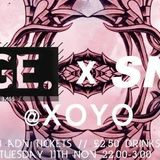Mix for Sneak @ XOYO 12/11/2014