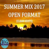 Summer Mix 2017 (Open Format ft Current Hits & Throwbacks) 66 Mins CLEAN