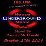 Opentempo Underground House Music Mix Show 27/10/2019