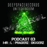 DEEP SPACE RECORDS PODCAST NUMBER 3 DEC 2013 XMAS 2 HOUR SPECIAL