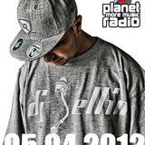 DJ JELLIN - planet radio black beats show - 05.04.2012