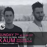 Kaum @Ibiza Global Radio - Deep House Special Set December 2014