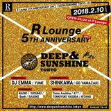 R LOUNGE 5th ANNIVERSARY DAY2 DEEP & SUNSHINE TOKYO #24 2018.02.10