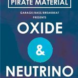 THE CURATOR - PIRATE MATERIAL PRESENTS OXIDE AND NEUTRINO - PROMO MIX