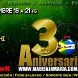Made in Jamaica al AIRE Radio online ,emisión 196 Sábado 14 de Septiembre www.madeinjamaica.com.ar