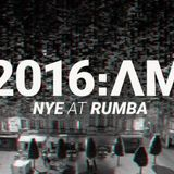 FRELIX B2B JONA @ RUMBA POPCLUB FOR SIX AM NYE 31 dec 2015