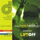 Tiësto Live @ Dutch Dimension Amsterdam (02-02-2002) Part 3