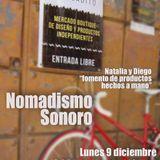 Nomadismo Sonoro #16 Natalia y Diego del Sagrado Mercadito
