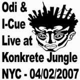 Odi b2b I-Cue Live at Konkrete Jungle NYC 4-2-2007