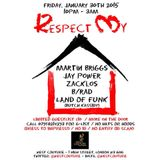 Respect My House Promo Mix Jan 2015 by Land Of Funk @Butchkassidy