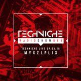 NEW EPISODE - TRS083 Techniche Live: Myxzlplix