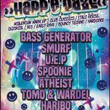 Haribo, Happedaze, Bassy G Night, 2 hour warm up, Varsity, Sunderland 17-09-2016