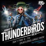 Jimmy Thunder feat. Peripheral, Dizzy & Sam Archer - Thunderbirds Show - Renegade Radio May 2015