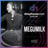deephouse.com podcast 002 with Megumilk