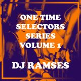 One Time Volume 1 - DJ Ramses