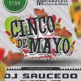 Dj Saucedo Live At Infinity Club FNSM AGS-MEX 05-05-12
