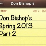 Don Bishop's Spring 2013 House Mix Part 2