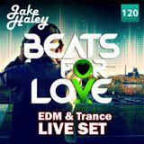 Jake Haley live @Beats4love 2015