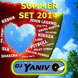 Dj Yaniv O - Summer Set 2014 vol.1 (Only Hits)