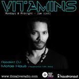 Vitamins ep61 - Motoe Haus - www.ibizaliveradio.com