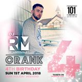 CRANK promo mix - 01.04.2018 @101Nightclub