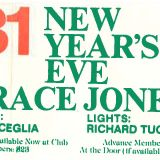 New Years Eve •1982 • River Club • NYC