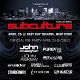John O Callaghan - Live at Subculture, New York - 25-Apr-2015