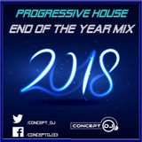Concept - End of the Year Mix 2018 (Progressive House) [06.01.2019]