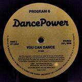 DancePower (Prog.6) - (Side A) You Can Dance