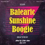 Exclusive Balearic Sunshine Boogie Born in '83 Mixtape - DJ Erkin Antov