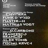 D.Carbone (Live PA) @ Tresor Meets Komplex De Deep - Tresor Berlin - 25.01.2014